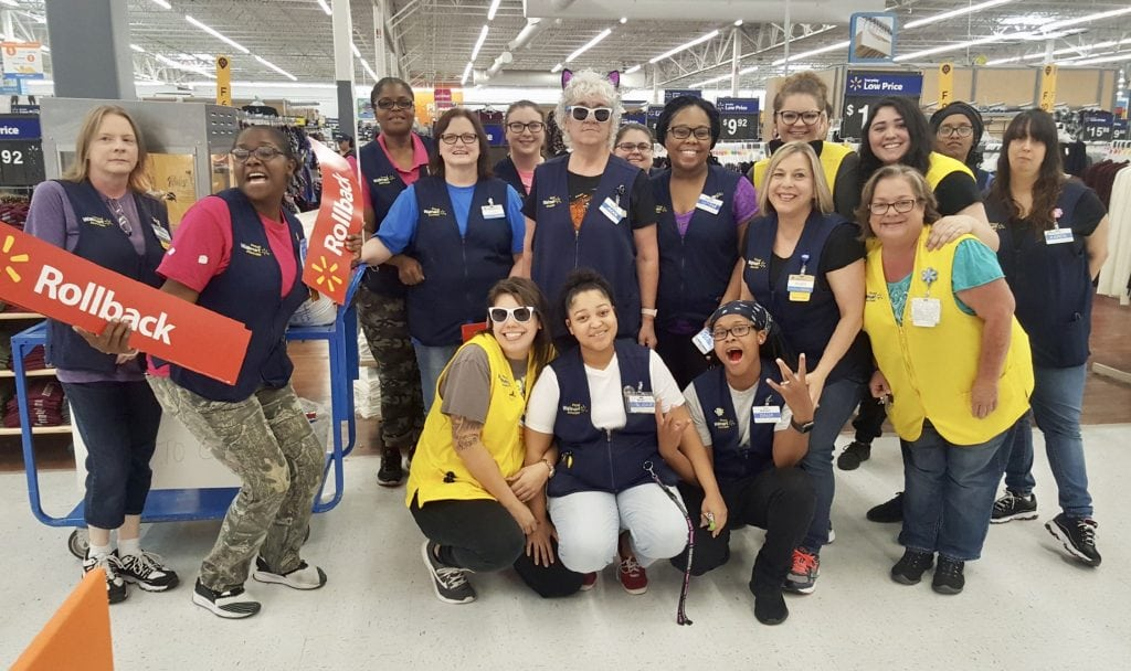 Walmart Associates In West Orange Rolled Up Their Sleeves To Help Raise Money For Childrens Miracle Network CMN Hospitals Southeast Texas